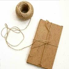 1 Roll 1.4 Metre Jute Twine Cord Dia Hemp Rope Pack Packaging Accessory DIY D5K5