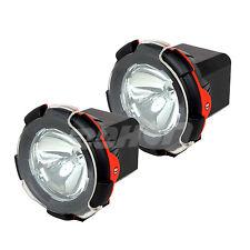 2PCS 55W Xenon HID Work Light Spotlight Offroad Truck Driving Car 24v 4inch Red