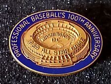 1969 Washington Senators All Star Game Press Pin (Tie Clasp) - Case Included