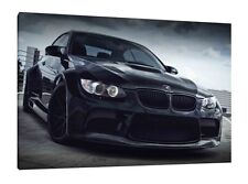 Carbon BMW M3 30x20 Inch Canvas - Print Framed Picture Wall Art