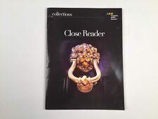 Collections Close Reader- Grade 12 Houghton -