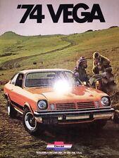 NOS CHEVROLET CHEVY '74 VEGA AUTO Sales Brochure- MINT!!!