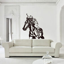Wall Decal Sticker Beautyfull Horse Animal Polo Game Play Bedroom (Z2780)