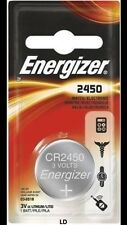 Energizer ECR2450 CR2450 BR2450 DL2450 Lithium 3V Battery New Authorized Seller