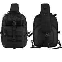 Tactical 1000D Sling Bag Pack Military Rover Shoulder Molle Messenger Backpack