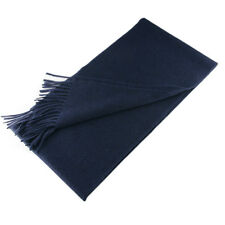 New Atmosphere Luxury Navy Blu Scarf ~ Made in Italy of 100% Loro Piana Cashmere