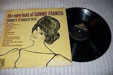 Connie Francis LP, The Very Best Of Connie Francis, MGM SE4167, 1963, VG+