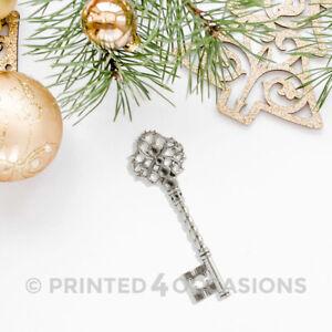 Santa Keys antique Bronze Gold Silver steampunk medium skeleton Christmas charms