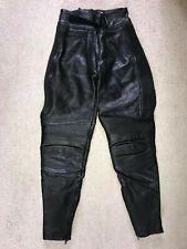 Belstaff Femmes Moto Moto Cuir Pantalon Taille 14 VINTAGE LEATHERS