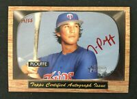 2004 Bowman Heritage RED INK Auto - Trevor Plouffe /55 - Signs of Greatness