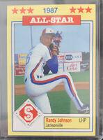1987  RANDY  JOHNSON   ROOKIE  # 16   SOUTHERN  LEAGUE  ALL-STARS