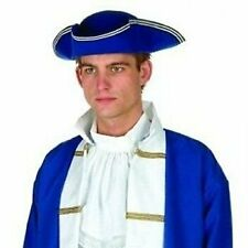 Colonial Hat-Felt (Blue;One Size)