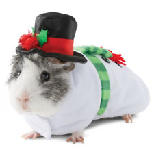 Guinea Pig Snowman Small Pet Animal Holiday Christmas Costume Clothes Funny Gift