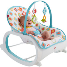 Infant-to-Toddler Rocking Chair For Newborn Baby Seating Vibrating Rocker Swing