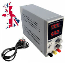 Variable Adjustable Lab DC Bench Power Supply 0-30V 0-5A K305D Switching UK