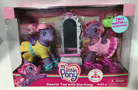My little Pony - Dancin ' Fun With star Song By Hasbro in 2008 New in Box