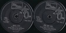 DISCO 45 GIRI  Diana Ross & The Supremes - Baby Love / Ask Any Girl