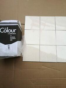 Colour cream speckle wall tile 15x15cm Ceramic WallTile each box cover 1sqm