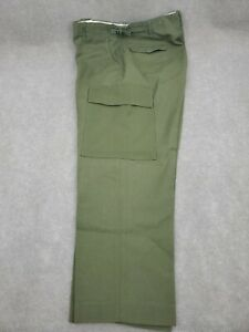 Medium Reg US Military M-1951 Wool Field Trousers Mens Army Green OG Cargo Pants