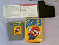 Super Mario Bros. 3 (Nintendo Entertainment System, 1990) With Box and Manual