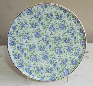 "Barker Bros Royal Tudor Ware Large 11"" Calico Dinner Plate Chintz Floral England"
