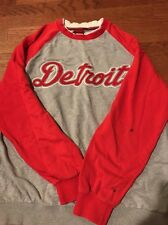 Detroit Tigers MLB RED SWEAT SHIRT MLB MEDIUM MIGUEL CABRERA JUSTIN VERLANDER
