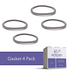 Enbizio Replacement Part NutriBullet 600W 900W Rubber Seal Gasket O Ring 4 Pack
