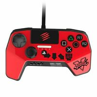 Street Fighter V FightPad Controller for PlayStation4 and PlayStation3 - Red