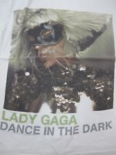 Official Lady Gaga - The Monster Ball Tour- Dance in the Dark  Small White Shirt