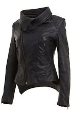 Petite Leather Casual Coats & Jackets for Women