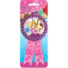 Disney Princess 'Dream Big' Birthday Party Award Ribbon Pin Badge