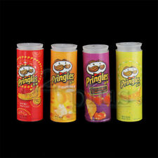 4 pcs Miniature Chips Dollhouse Groceries Packaging Material 1:12 Food Miniature