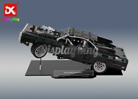DK-Display Stand for Lego Dom's Dodge Charger 42111( Australia Top Rated Seller)