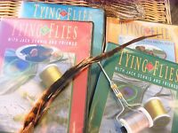 Tying flies with Jack Dennis and Friends DVD collection