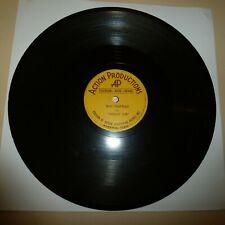 RARE COUNTRY 78 RPM  - DREAMY JOE - ACTION PROD(SUN) 101 - HARDEN'S BREAD BOOGIE