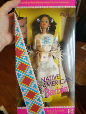 Barbie Dolls of the World, Native American. NRFB,  Special Edition
