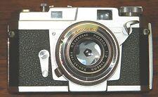 Vintage Konica III Rangefinder Seikosha- MXL Hexanon 48 mm Camera (158133)