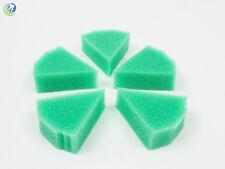 Dental Endodontic Foam Sponge Triangle Inserts Autoclavable Green 50 per bag