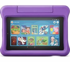 """AMAZON Fire 7 Kids 7"""" Tablet (2019) - 16 GB Purple - Currys"""