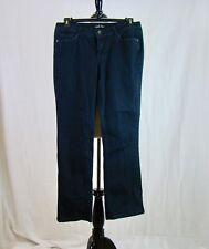 l.e.i. Chelsea Low Rise Stretch Embellished Pockets Dark Wash Jeans - Size 13