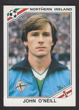 Panini - Mexico 86 World Cup - # 279 John O'Neill - Northern Ireland