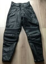 Belstaff Leather Motorcycle Trousers Jeans Ladies UK 14 excellent Condition