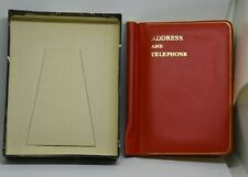 LETTS ADDRESS & TELEPHONE BOOK - VINTAGE