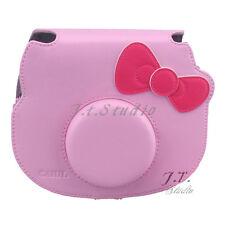 Camera Case For Fujifilm Instant Camera Cheki Instax Mini Hello Kitty Polaroid