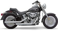 Cobra Dragsters Exhaust Chrome for Harley Softail 07-10