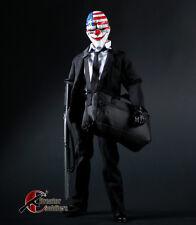 1/6 Scale Bank Robber Hanging Bag Clown Joker Package Model Figure Accessories