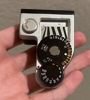 Vintage Minolta SR Meter 2 Light Meter Camera Film Photography