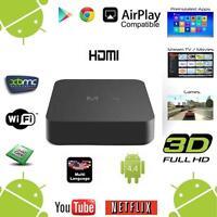MQ S805 Smart TV BOX Android XBEH Quad Core 8 Go WIFI 1080p 4K Media Player EH