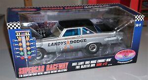 Dick Landy 1965 Dodge Coronet Hemi AWB Supercar Collectibles 1/18 New In Box.