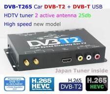 Auto mobile dvb-t2 Hd Tv Digital Receiver car tuner H.265 Hevc Stb Dvb-T265 Tdt